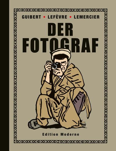 Cover zur Graphic Novel Der Fotograf