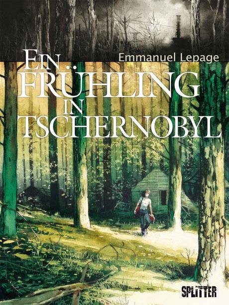 """Cover von Emmanuel Lepages """"Ein Frühling in Tschernobyl"""""""