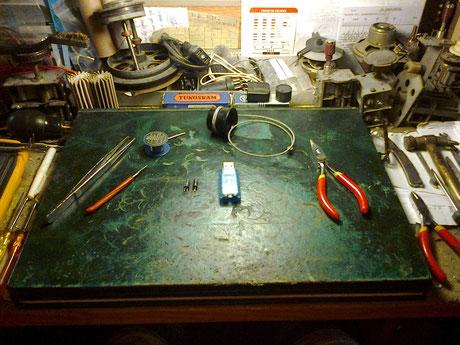 01 Preparando las herramientas y los componentes