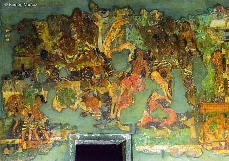 group_painting-sankhapala_ajanta