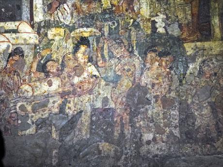 birth_of_lord_buddha_painting_ajanta