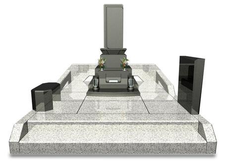 デザイナーズ墓石MemoireMaChereゼン