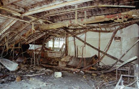 Ein Bild der Zerstörung