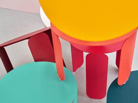 Design, Frankreich, Beistelltisch, bunt