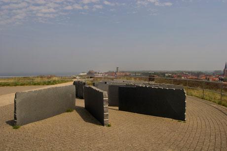 Blick vom Hoge Hill auf Domburg