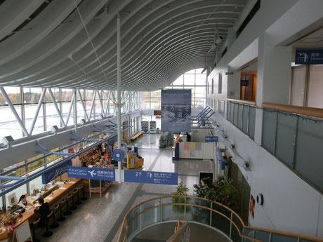 オホーツク紋別空港内観