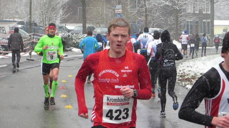 Marco Giese: Im Spurt zum Gesamtsieg über 10 km: 33:50 min