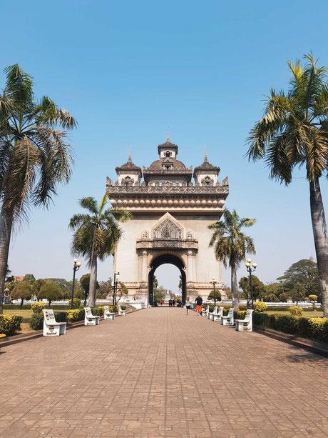 Vientiane, die Hauptstadt von Laos