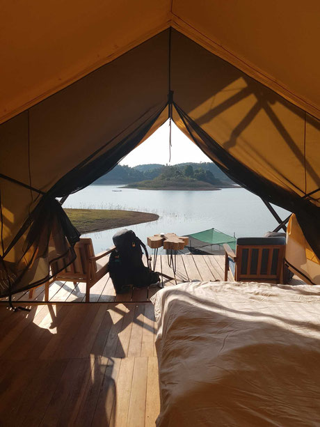 Sunset Nam Ngum Tented Resort