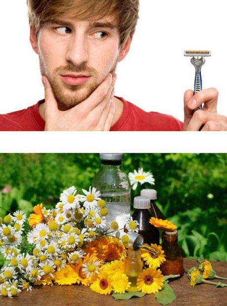Per pelli sensibili alla rasatura: pelli delicate, prodotti naturali; erboristeria L'Altea