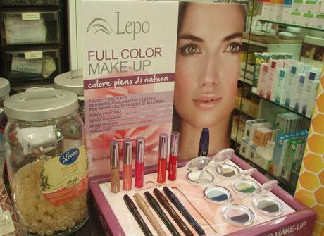 Make up, rossetti, tutto per la donna, prodotti naturali senza nichel presso l'erboristeria L'Altea a Roma