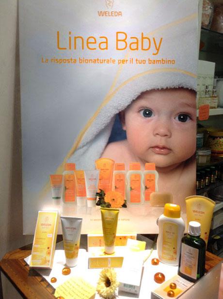 Linea Baby presso l'erboristeria L'Altea