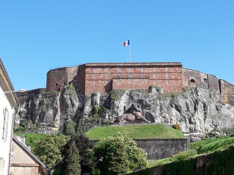 lion, belfort, bartholdi, guide, conférencier, visites, guidées, citadelle