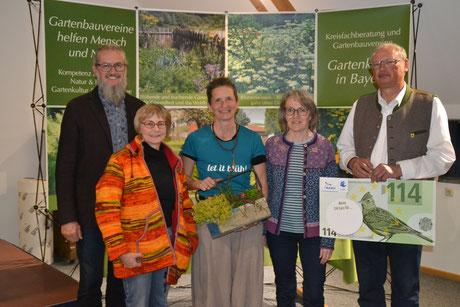 Gemeinsamer Vortrag zum naturnahen Garten mit dem Kreisverband der Gartenbauvereine und der Kreisgruppe des Bund Naturschutz
