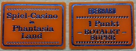 Rotalet bzw. Rotalet Super (Vorder- und Rückseite) aus dem Spiel-Casino