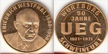 Medaille 100 Jahre Berliner Sportverein 1892 e.V. gold oder bronzefarben Pokale & Preise