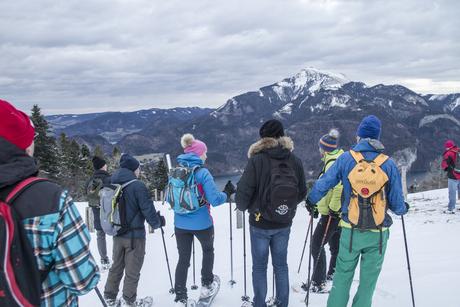 GEO-Cachen mit ScoutBobby im Winter (c) Bild Leinich Mathias