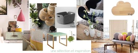 sélection objets et mobiliers