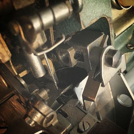 rimoldi overlock wekstatt nähmaschine handwerk