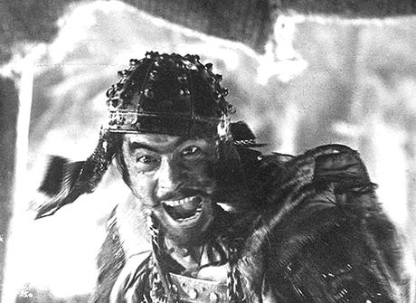 Toshiro Mifune. Los 7 samurais.