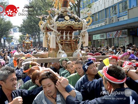 2016年10月16日, よこすかみこしパレード,  神輿:台町内会