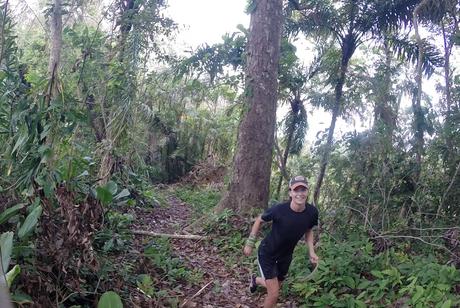 Joggen in den Tropen
