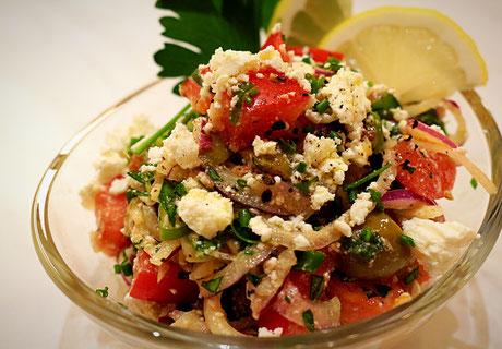 Griechischer Zwiebelsalat