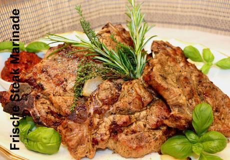 Deutsch-Italienische Küche Mediterrane Steak Marinade
