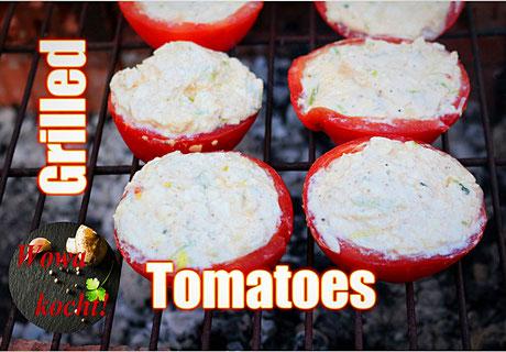 Gegrillte Gefüllte Tomaten