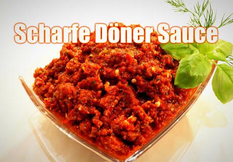 Scharfe Döner Kebab Sauce