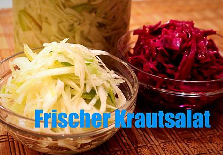 Frischer Krautsalat Rezept