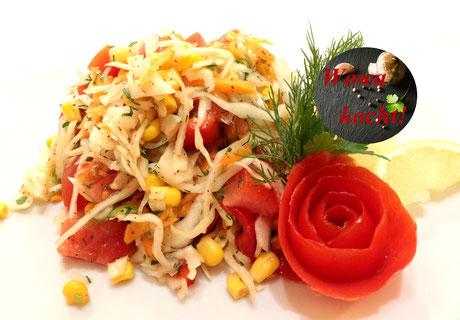 Gemischter Krautsalat