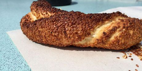 simit turkish sesame bagel