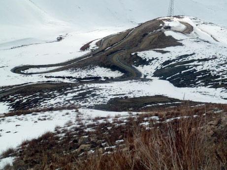 Road Survey Western Kyrgyzstan