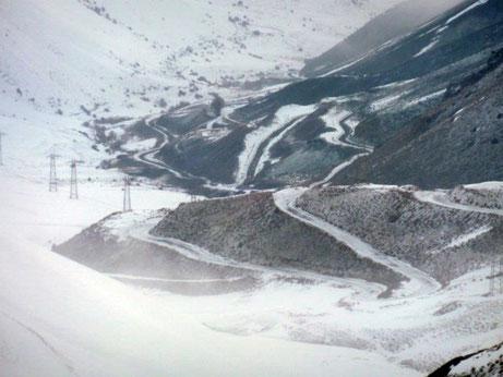 Kyrgyzstan Chapchima Pass March 2014