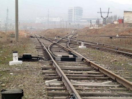 rail system Kyrgyzstan