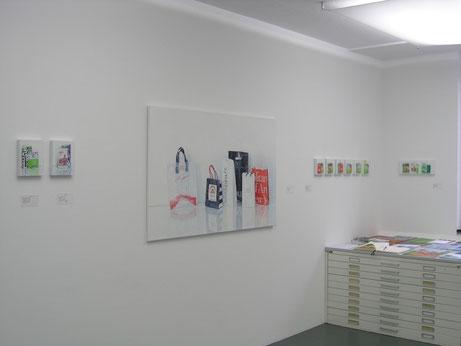 Sabine Christmann, ausstellungsansicht, Galerie von Braunbehrens, München, 2014