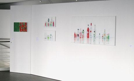 Sabine christmann, Ausstellungsansicht, Galerie Andreas Henn, Stuttgart, 2014