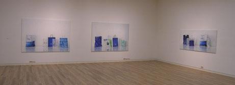 Sabine Christmann, Ausstellungsansicht, Gana art Gallery, Seoul, 2007
