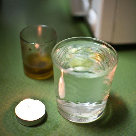La prueba del aceite, para saber si hay mal de ojo