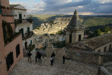 Blick Richtung Ragusa Ibla
