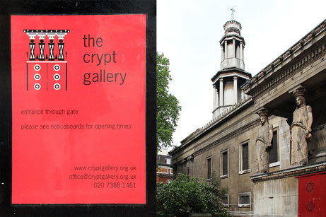 Londra 2014 - crypt gallery