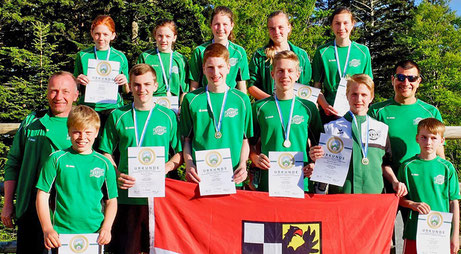 Bayrische Meisterschaft Sommerbiathlon SG Wörnitz