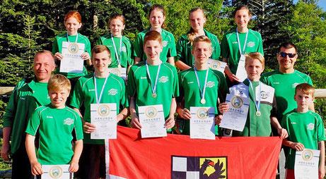 Bayrische Meisterschaft Sommerbiathlon SG Wörnitz - Sommerbiathlon Schützen SG Wörnitz Schützengilde