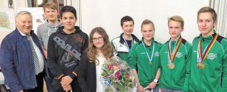 Simon Scharf, Fabian Scharf, Alina Leopoldseder, Christina Danzer - Sommerbiathlon Schützen SG Wörnitz Schützengilde