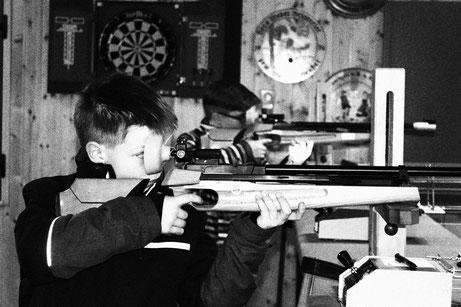 Auflageschießen der Nachwuchsschützen in der SG Wörnitz