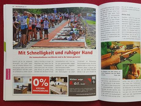 - Sommerbiathlon Schützen SG Wörnitz Schützengilde