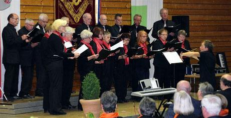 Gruppenchorkonzert in Sulzheim -2019