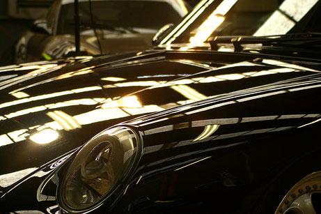 993RSクラブスポーツの傷消し磨き 濃色車の色褪せ改善 埼玉
