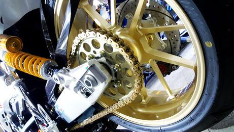 CB1300SBのコーティング ゲイルスピード バイクのガラスコーティング  埼玉三芳